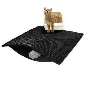 Double Layer Cat Litter Mat 55 x 77 CM – Keset Pasir Kucing