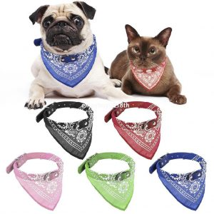 Kalung Gaya Scraf Untuk Kucing dan Anjing