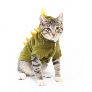 Kostum Dinosauruts Untuk Kucing dan Anjing