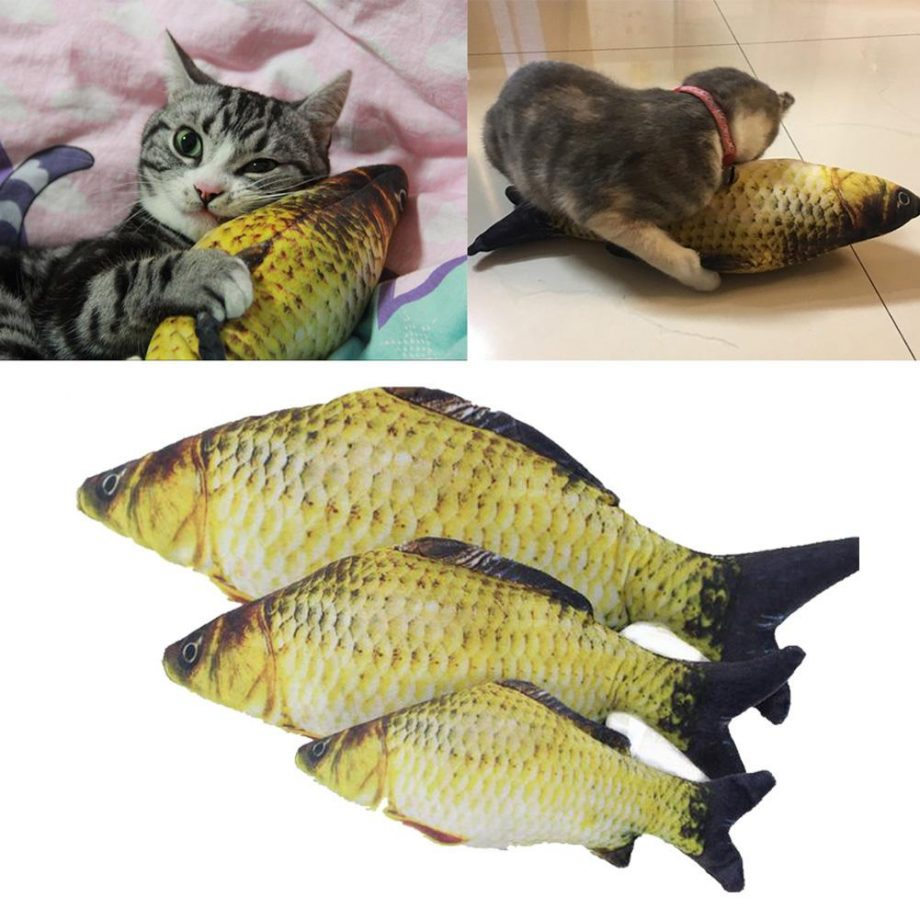 boneka ikan catnip
